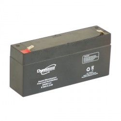 AGM BATTERY 6V 3.2AH/C20 2.7AH/C5 T1