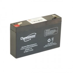 AGM BATTERY 6V 7.2AH/C20 5.95AH/C5 T2